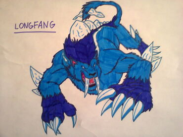 Monsuno longfang drawing by kurowolf216-d5svt3g