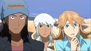 Jinja, Dax y Beyal (Chase está confundido)