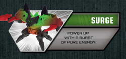 Surge Monsuno effect