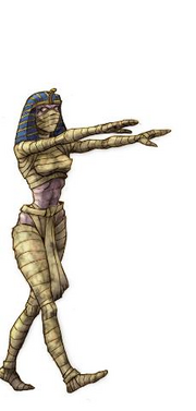 Evil Demon Mummy girl