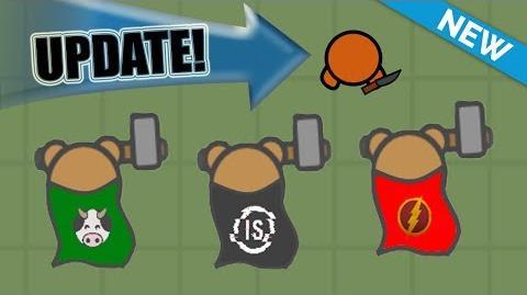 NEW MOOMOO.IO CAPES & DAGGER !!! (MooMoo.io Update Ideas)