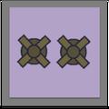 Windmill Pair Medal