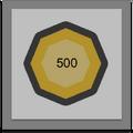 500 Edit Medal