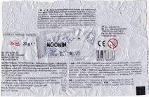 Moomin chocolate egg paper