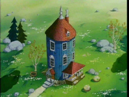 Moominhaouse during summar
