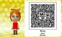 Ninni Moomin Mii Tomodachi Life QR