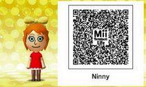 Mii Tomodachi Life QR Ninni Moomin