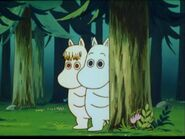 Moomin and Snorkmaiden (Aunt Jane)