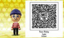 Mii Tomodachi Life QR Totiki Artisan