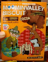Moominvalley biscuits cocoa