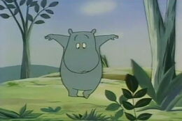 Moomin 1969 finding the antlion