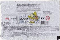 Snufkin chocolate egg paper