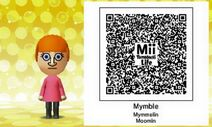 Mii Tomodachi Life QR Mymble