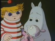 Moomintroll, Too-Ticky and Frozen Little My