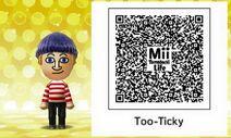 Totiki Artisan Mii Tomodachi Life QR