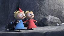 Thingumy and Bob walk (Moominvalley)