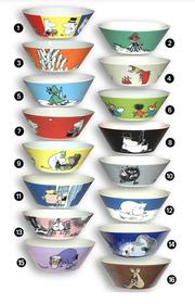 Moomins bowls
