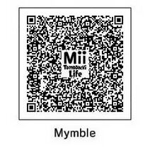 Mymble QR Tomodachi