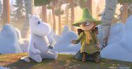 Moominvalley Scene Moomintroll Snufkin