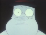 Moominpappa freaking out