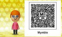 Mymble Mii Tomodachi Life QR
