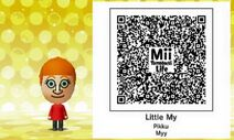 Little My Mii Tomodachi Life QR