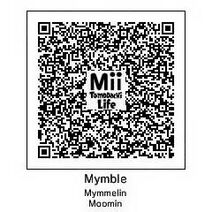 QR Tomodachi Mymble