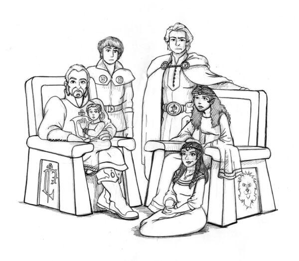 Garithos-Lionheart Family Portrait by Rich Morris HD