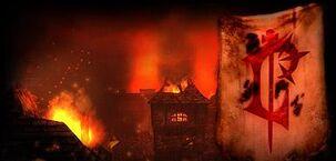 Stratholme Ruins Lordaeron Flag