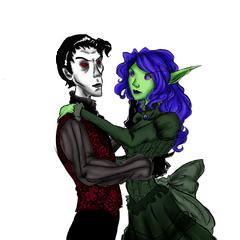 Ivan and Seleste Felsorrow dancing.