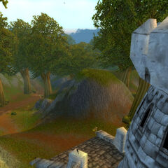 The pathway to the Deadwind Pass prior to the First War.