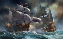 Ship battle