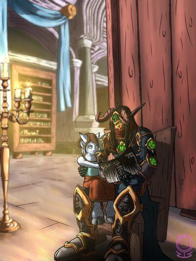 Zevrad and Edis - Ethereal Storyteller