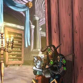 Stormwind Library - <a rel=