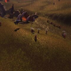 Arathorian Soldiers patrol the Wetlands.