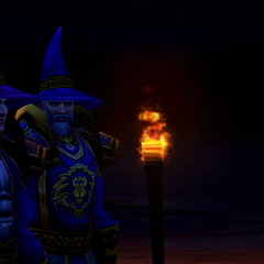 The Archmage with Magus <a class=