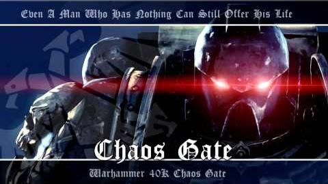 Chaos Gate OST -009 - Chaos Gate - Warhammer 40K Soundtrack Music