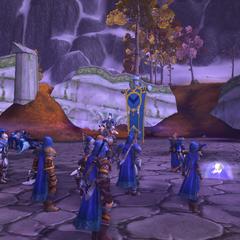 Preparing the defenses of Dalaran.