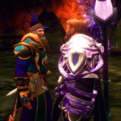 Archmage Aetyleus and Magus <a href=