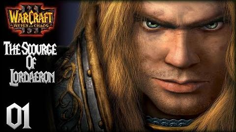 WarCraft III Reign of Chaos - Human Campaign 1 - The Defense of Strahnbrad