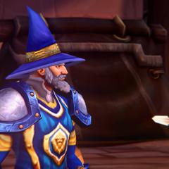 Aetyleus speaking to commanders.
