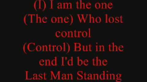 Hammerfall - Last man standing (lyrics)