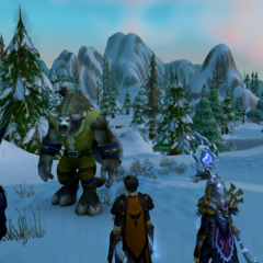 The Tauren Envoy proposes a ceasefire.
