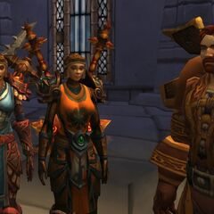 Allse contemplating his place within Alterac, without his hat, what will he do?