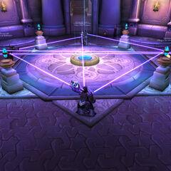 Re-establishing Dalaran's Defense Network after the Legion assault.