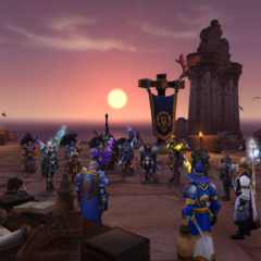 Day two; officer meeting at Vol'dun.