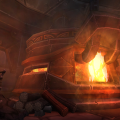 Nothing like an everburning fire elemental to serve as a power source for your forge!