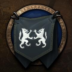 The Grey Hand's original logo.
