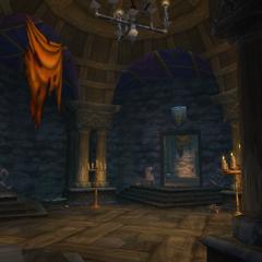 The halls of Shadowfang Keep.