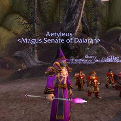 Aetyleus and the Vanguard.